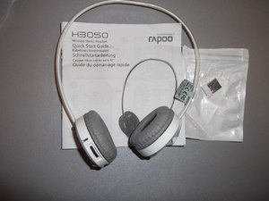Фото: Наушники Rapoo Wireless Stereo Headset H3050
